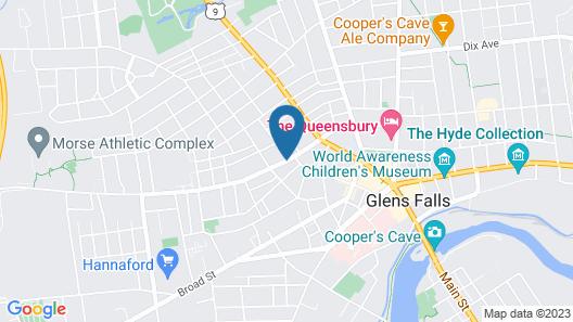 The Glens Falls Inn Map