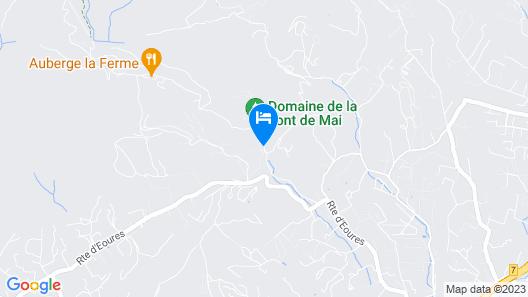 Domaine Jobert Map