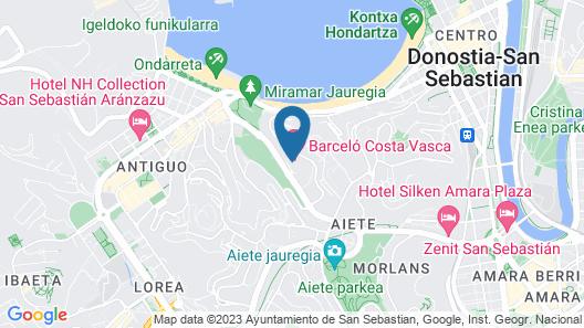 Barceló Costa Vasca Map