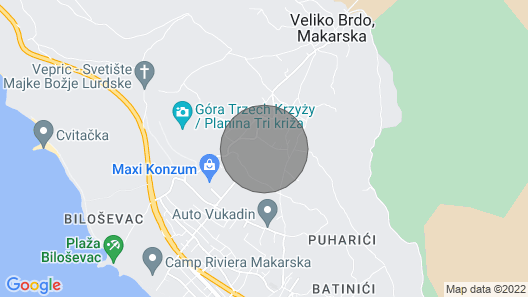 High-lux Villa Vikki With Pool and Seaview Map
