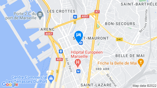 Apartment in the Heart of Marseille Map