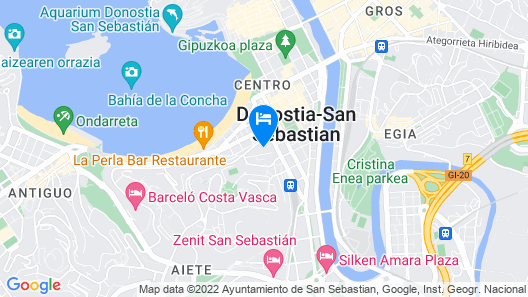Catalonia Donosti Map