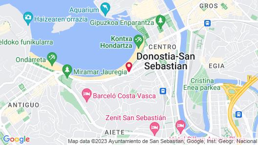 Hotel Niza Map