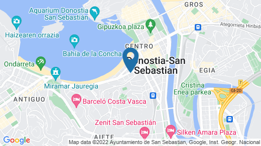 Hotel Zenit Convento San Martín Map