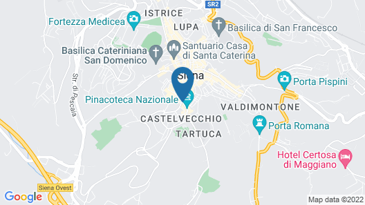 Residenza d'Epoca Palazzo Borghesi Map