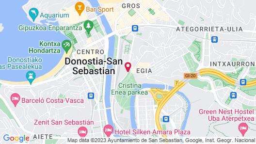 One Shot Tabakalera House Map