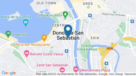 Hotel Villa Katalina By Intur Map