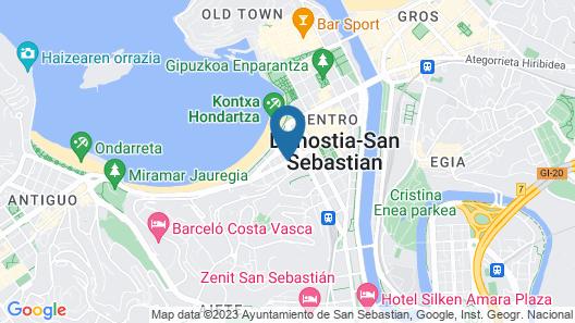 Sercotel Hotel Europa Map