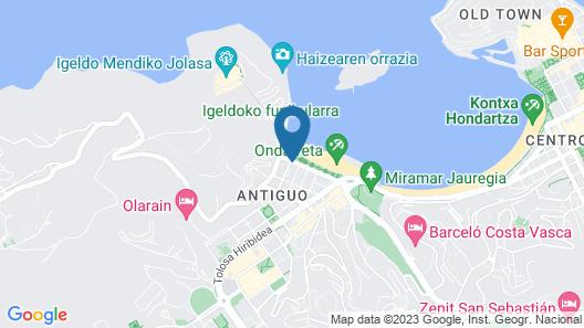 Hotel Ezeiza Map