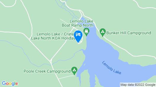 Lemolo Lake Resort Map