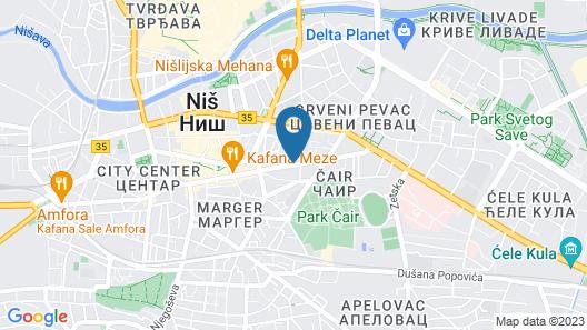 Bloom Inn Map