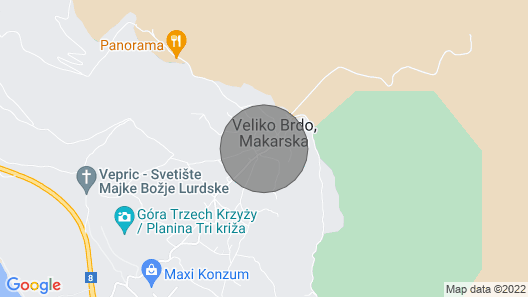 LUXURY VILLA IN CROATIA WITH PRIVATE POOL (HEATABLE), FAMILY FRIENDLY  Map