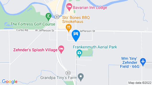 Frankenmuth Motel Map