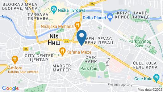 Hotel Consul  Map