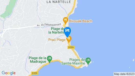 Citotel La Nartelle Map