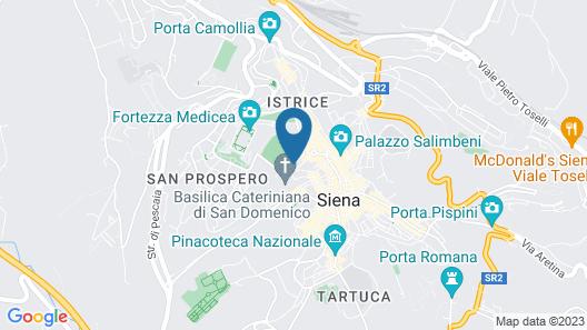 Hotel Chiusarelli Map