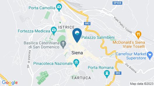Grand Hotel Continental Siena – Starhotels Collezione Map