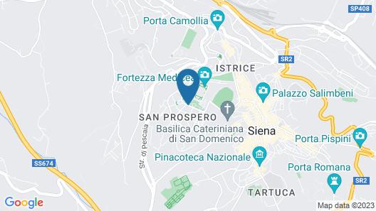 La Villa di STR Map