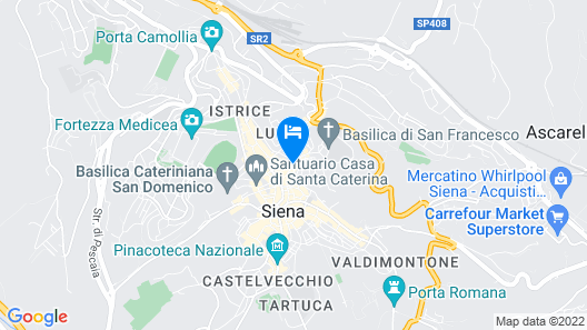 Hotel Palazzetto Rosso Map