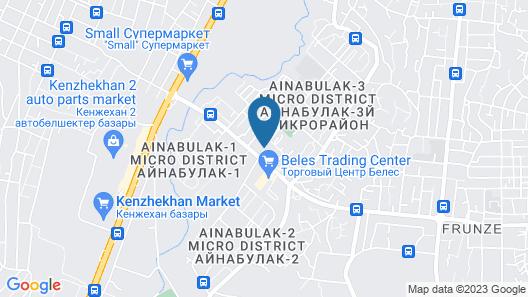 Saraichik Hotel Map