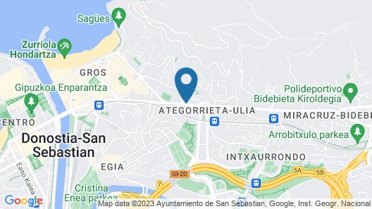 Villa Soro Map