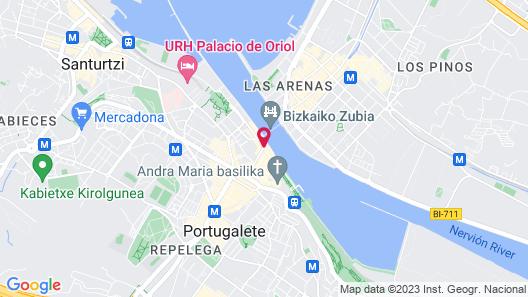 Puente Colgante Boutique Hotel Map