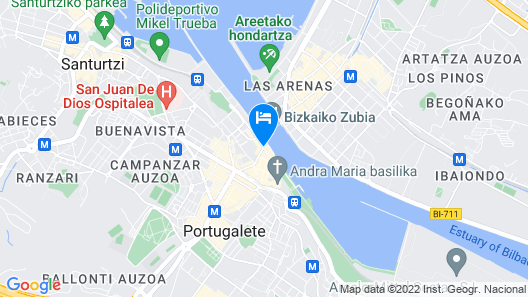 Puente Colgante Boutique Hotel Map