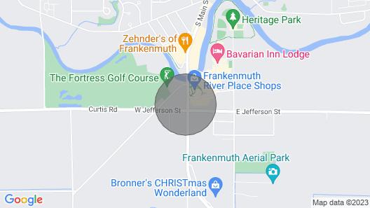 2-bdr Main St. Loft, Pet Friendly!! Map