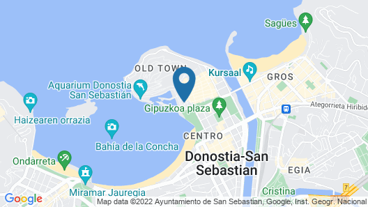 Lasala Plaza Hotel Map