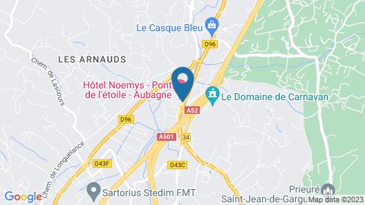 Logis Mas de L'Etoile Map