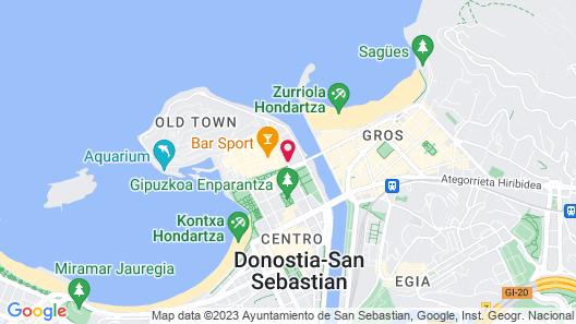 Pensión Casa Nicolasa Map
