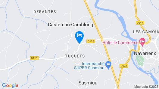 Chambre d'Hotes Chez Bouju Map