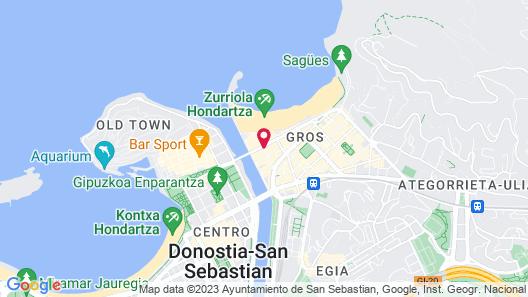 Hotel Arrizul Beach Map