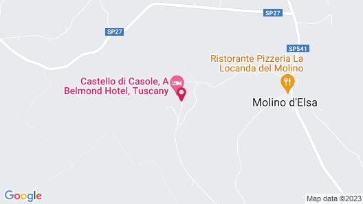Belmond Castello di Casole Map