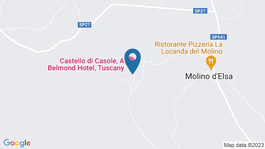Castello di Casole, A Belmond Hotel, Tuscany Map