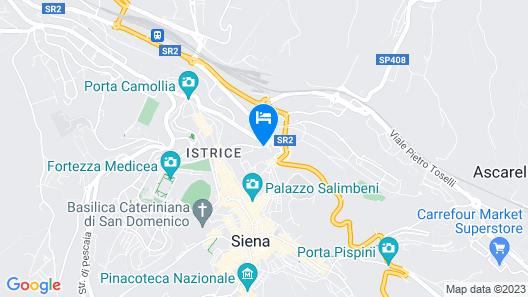 Hotel Minerva Map