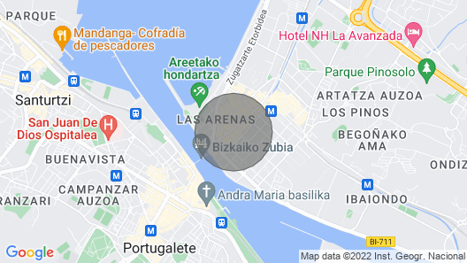 Apartment in Getxo with unbeatable location. Map