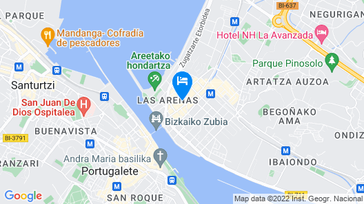 BILBAO BY THE SEA IV apartment by Aston Rentals Map