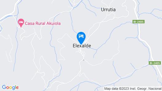 Casa Rural Altuena Map