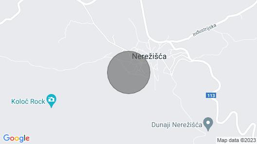 House Andrej - Nerezisce - Island Brac Map