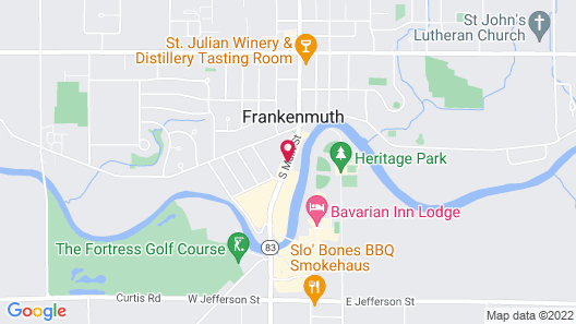 SpringHill Suites by Marriott Frankenmuth Map