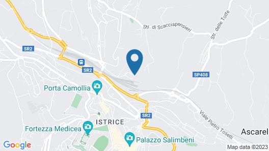 Borgo Grondaie Map