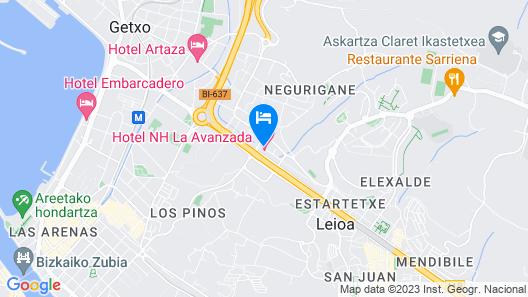 NH La Avanzada Map