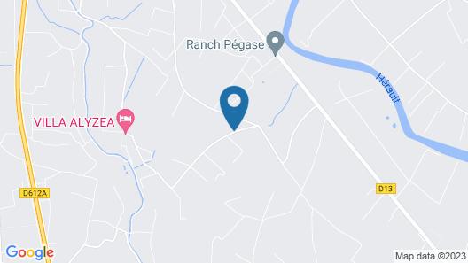Domaine de l'Aumone Map