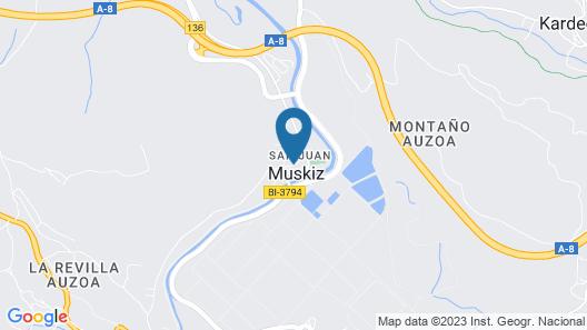 Hotel Palacio Muñatones Map