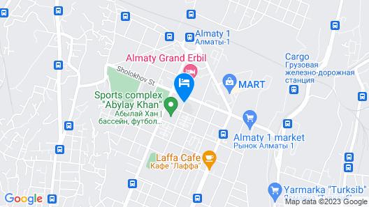 Grand Erbil Hotel Map
