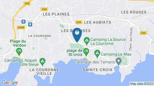 Camping Pascalounet Map
