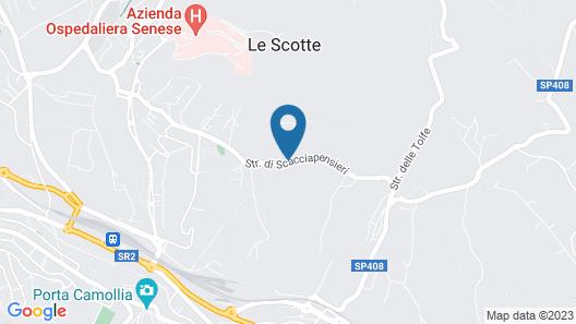 Villa Scacciapensieri Boutique Hotel Map