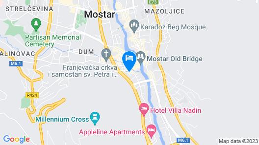 Pansion Cardak Map