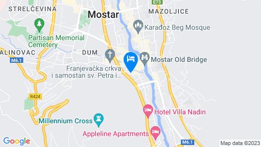 Motel Deny Map